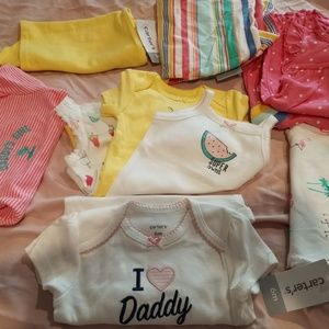 baby girls clothes 9 pieces set